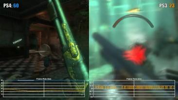 BioShock - PS3 vs PS4 Частота кадров