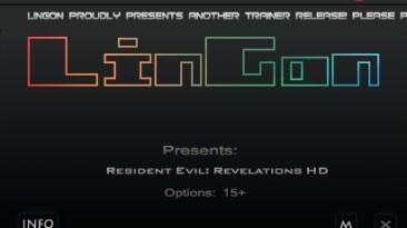 Resident Evil ~ Revelations HD: Трейнер/Trainer (+15) [1.3.0] {LinGon}