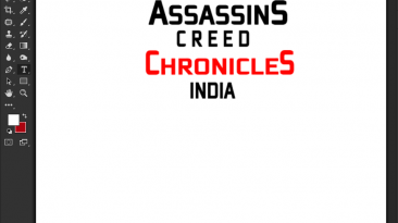 """Assassin's Creed Chronicles: India """"Шрифт для фотошопа"""""""