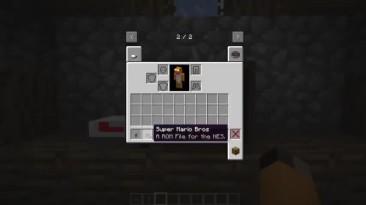 Консоль Nintendo в Minecraft