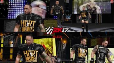 "WWE 2K17 ""MVP The Hurt Business Наряд (Лицевая анимация) WWE 2K19 Порт мод"""
