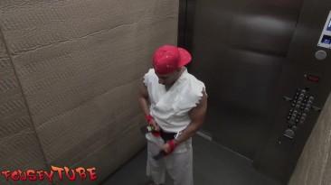 """Street Fighter """"Приколы в лифте"""""""