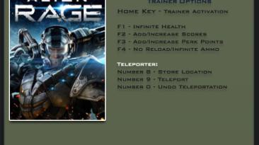 Alien Rage: Трейнер/Trainer (+6) [1.0] {LinGon}