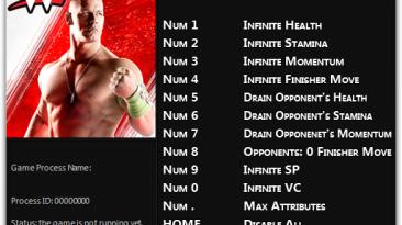 WWE 2K15: Трейнер/Trainer (+11) [1.0 - Update 1] {FLiNG}