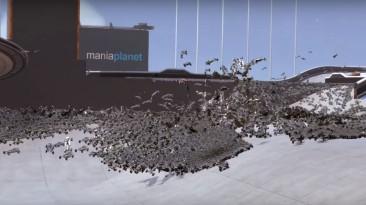 20 тысяч автомобилей из TrackMania на одной трассе