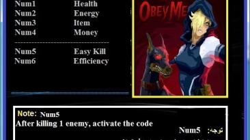Obey Me: Трейнер/Trainer (+6) [1.0/64-32bit] {Abolfazl.k}