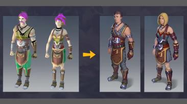 MMORPG RuneScape получит улучшенные модели персонажей