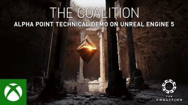 Демонстрация технологии Unreal Engine 5 от The Coalition на GDC 2021 - Alpha Point