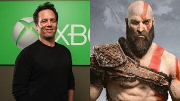 """Фил Спенсер похвалил создателя God of War: """"Так выглядит руководство"""""""