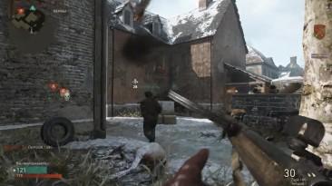 Играем Call of Duty: WWII Ивент атака мертвецов
