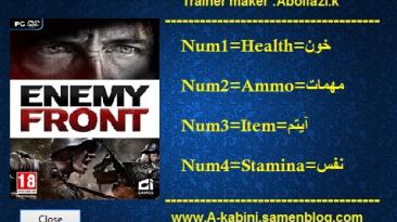 Enemy Front: Trainer/Trainer (+4) (All Versions) {Abolfazl.k}