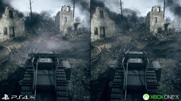 В Digital Foundry сравнили 4K обновление для Battlefield 1 на Xbox One X и PS4 Pro