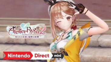Atelier Ryza 2: Lost Legends & the Secret Fairy анонсирована для PS4, Switch и PC