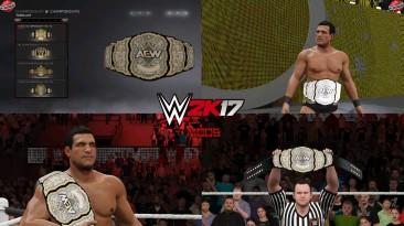 "WWE 2K17 ""AEW Championship WWE 2K19 Порт МОД"""