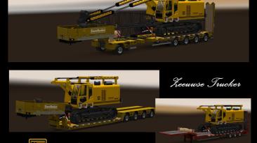 """ETS 2 """"Дополнения Для Тяжелых Грузов """"DLC Heavy Cargo Pack"""""""""""