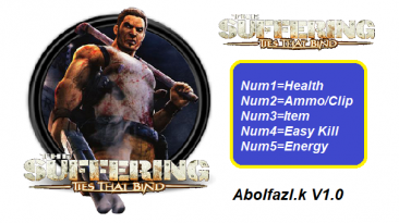 The Suffering: Ties That Bind: Трейнер/Trainer (+5) [1.0] {Ablfazl.k}