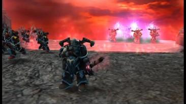 Dawn of War - Dark Crusade. Начало компании за космодесант хаоса