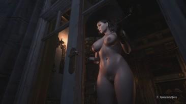 """Resident Evil: Village """"Голая Альсина Димитреску+Аддон"""""""