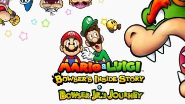 Смотрим и сравниваем: оригинал и ремейк Mario & Luigi: Bowser's Inside Story