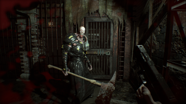 "Resident Evil 7 ""Замена модели Джека на Немезиса из RE3 2020""."