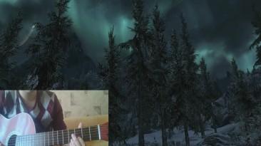 Как играть на гитаре Jeremy Soule - Call of Magic ( TES III: Morrowind & TES V: Skyrim OST)