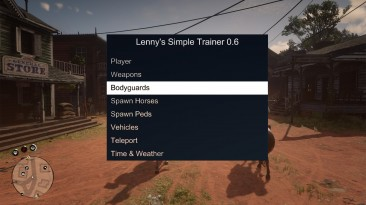 Red Dead Redemption 2: Чит-Мод/Cheat-Mode (Lenny's Simple Trainer) [0.7]