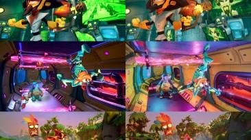 Crash Bandicoot 4 на первых скриншотах порта для Switch, разработчики рассказали о разрешении и частоте кадров