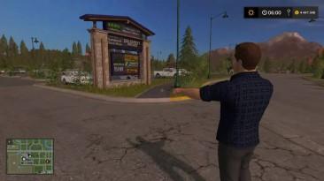 Farming Simulator 17 - Сломались пешеходы