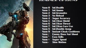 Titanfall 2: Трейнер/Trainer (+14) [2.0.6.1] {ArmY of 0n3}