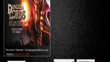 Dungeon Lords Steam Edition: Трейнер/Trainer (+3) [1.60] {MrAntiFun}