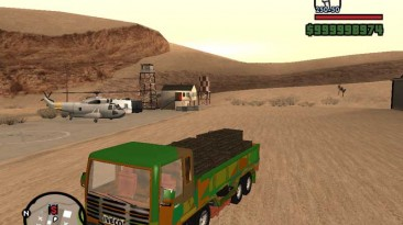 "Grand Theft Auto: San Andreas ""Iveco Truck 4 Axes Military"""