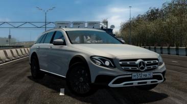"""City Car Driving """"Mercedes-Benz E400d All-Terrain (v1.5.8 - 1.5.9.2)"""""""