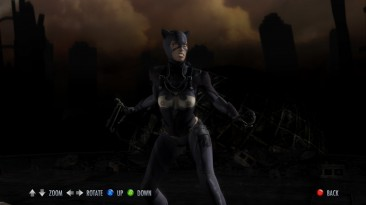 """Injustice: Gods Among Us """"Nude Mod (Catwoman)"""""""