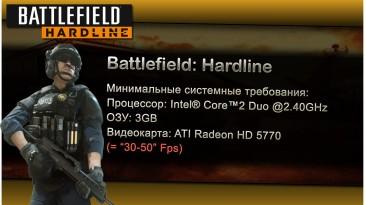 "Battlefield: Hardline ""Оптимизация для слабых ПК"""