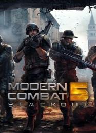 Обложка игры Modern Combat 5: Blackout