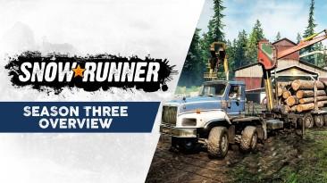 В SnowRunner начался третий сезон с новым регионом и классическими миссиями