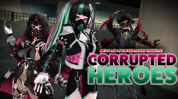 Phantasy Star Online 2 представляет коллекцию Corrupted Heroes