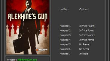 Alekhine's Gun: Трейнер/Trainer (+7) [1.0] {Enjoy / ETR}