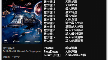 Battlefleet Gothic: Armada: Трейнер/Trainer (+17) [7487-7544: x64] {FLiNG}