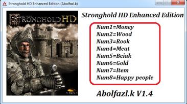 Stronghold HD Enhanced Edition: Трейнер/Trainer (+8) [1.4] {Abolfazl.k}