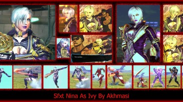 "Street Fighter X Tekken ""Nina As Ivy"""