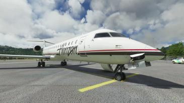 Новое видео надстройки CRJ для Microsoft Flight Simulator, показывающее EFB, множество опций и потрясающую анимацию