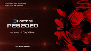"""PES 2020 """"Smoke Patch20 v3 Обновление 20.3.7"""""""