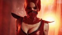 Косплей Скарлет из Mortal Kombat