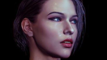 """Resident Evil 3 """"Новый макияж и глаза"""""""