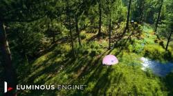 Square Enix выпускает новое технологическое видео, демонстрирующее подход Luminous Engine к процедурной генерации