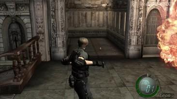 Resident Evil 4 HD project - Новый огонь от гранат и меню
