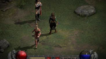 """Diablo 2: Resurrected """"Женщины наемники"""""""