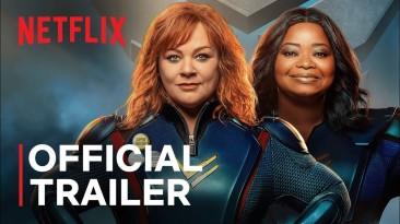 """Вышел трейлер комедии Netflix """"Громовая сила"""" про толстых супергероев"""