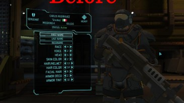 """XCOM: Enemy Unknown """"Ретекстур брони HQ re-textures pack"""""""